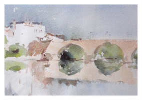 Watercolour by Andrew Gemmill